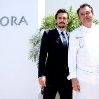 Chef Bruno Oger z Jamesom Francom (foto: Image.net)