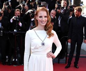 Cannes: Rdečelasa kraljica rdeče preproge