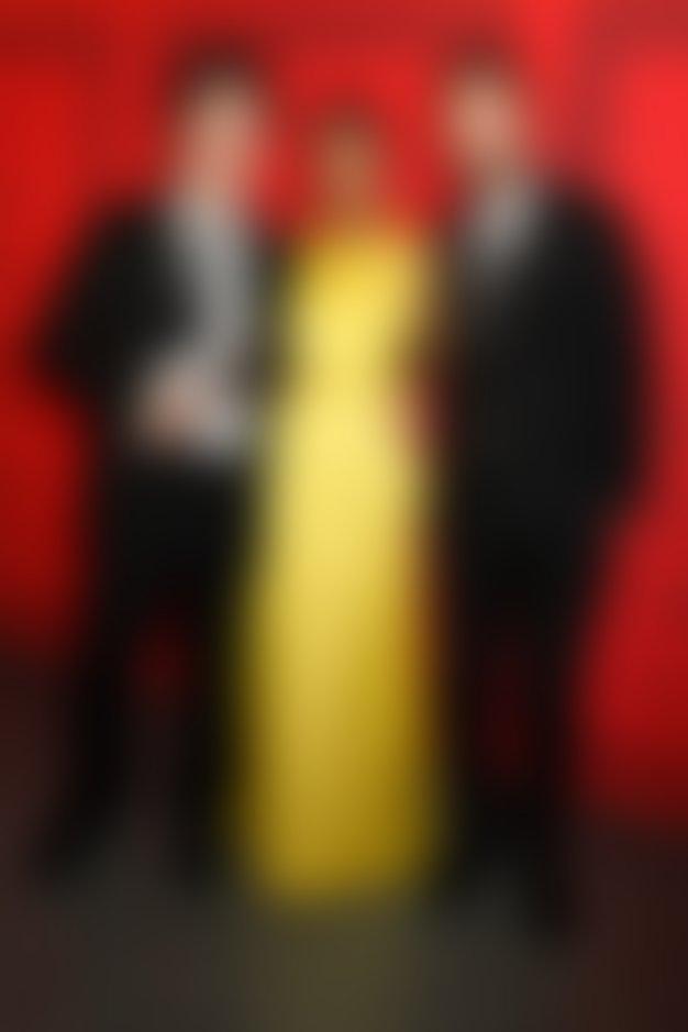 Lazaro Hernandez, Kerry Washington (v obleki Jason Wu) in Jack McCollough na podelitvi nagrad CDFA. Foto: Profimedia