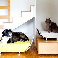 Dizajnersko in naravno ležišče za ljubljenčka