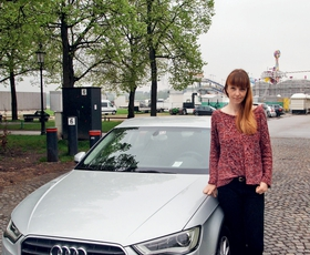 Na poti z Audijem A3