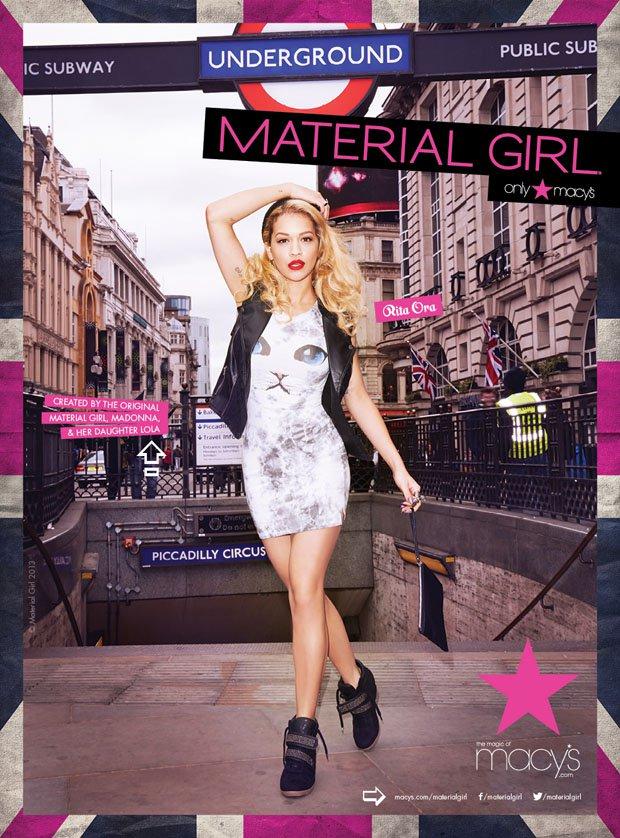 Rita Ora, londonska Material Girl - Foto: Promocijsko gradivo