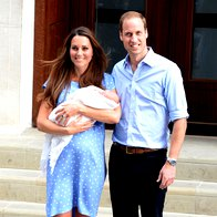 Foto: Princ George Cambriški se predstavi