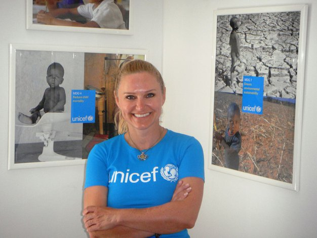 Nuša Derenda: Z Unicefom v Zambijo - Foto: Unicef
