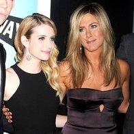 Foto: Jen, Emma in Olivia na premieri (foto: Profimedia)