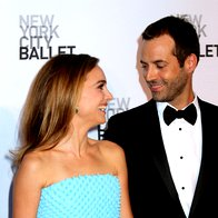 Natalie in SJP na baletnem galadogodku (foto: Profimedia)