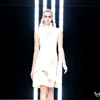 Irena Funduk Fashion: Ptice svetlobe in teme (foto: Primož Predalič)