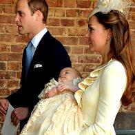 Foto: Catherine na krst v McQueenu (foto: Profimedia)