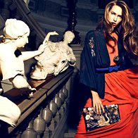 Maša Bačer: Vzhajajoča zvezda modnega sveta (foto: Žiga Mihelčič)