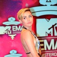 Foto: Miley in druščina na MTV EMA
