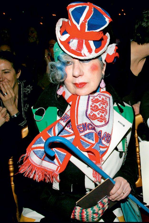 "Anna Piaggi: ""Moj klobuk je zelo osebna stvar"" - Foto: profimedia"