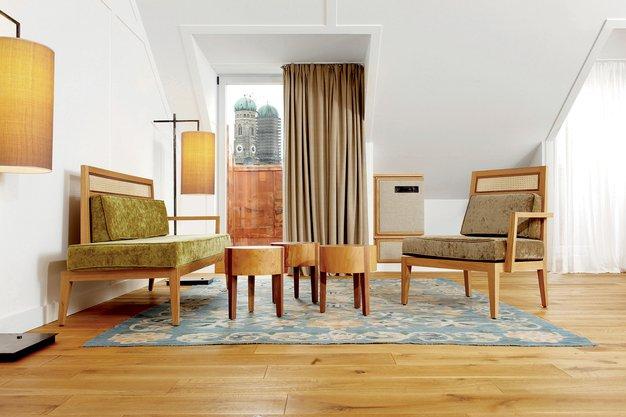Sproščena eleganca Hotela Louis München - Foto: Kull & Weinzierl GmbH in promocijsko gradivo