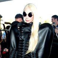 Foto: Lady Gaga v LA-ju v kreaciji Petra Movrina (foto: Foto: Profimedia)
