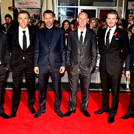 Paul Scholes, Phil Neville, Ryan Giggs, Nicky Butt, David Beckham in Gary Neville (foto: Profimedia)