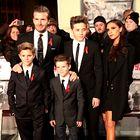 Foto: Oblegana lepa družina Beckham