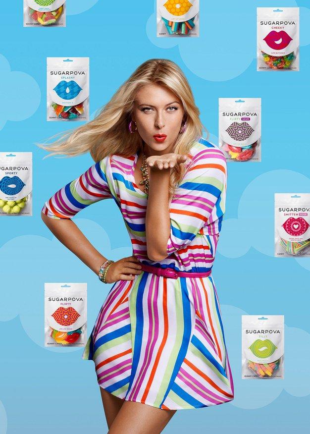 Sugarpova - bonboni sladkosnede Marie Sharapove - Foto: Promocijsko gradivo