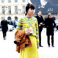 Kako nositi pulover z vzorcem