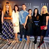 Žirija Elle Style Awards: Petra WIndschnurer, Lorella Flego, Jure Purgaj, Barbara Sekirnik, Elena Fajt in Jerneja Jager (foto: primož predalič, sašo radej)