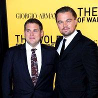 Jonah Hill in Leonardo DiCaprio