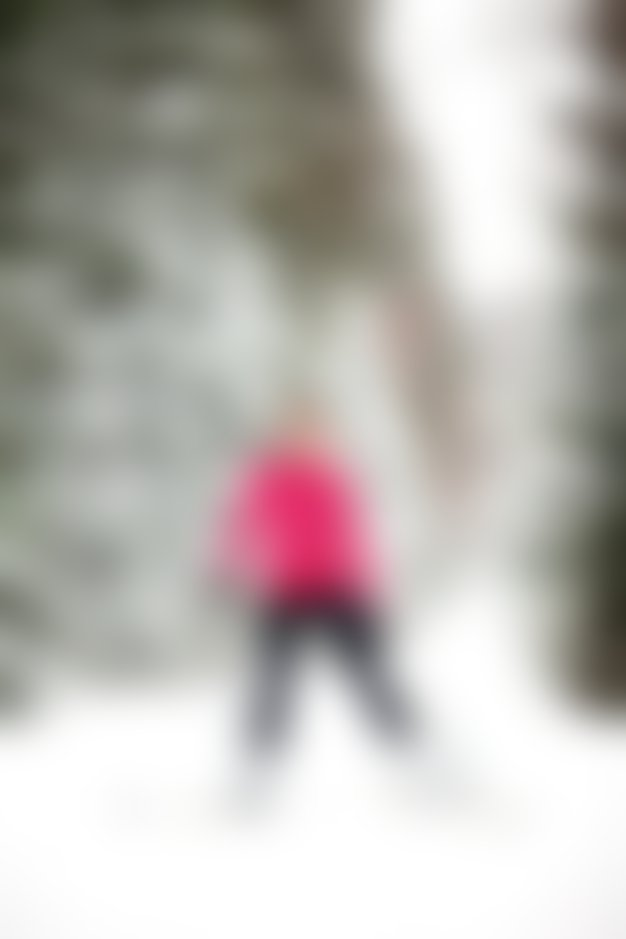Idealen zimski šport: tek na smučeh