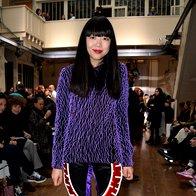 Susie Lau na reviji Maison Martin Margiela (foto: Profimedia)