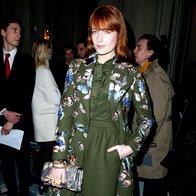 Florence Welch na reviji Valentino (foto: Profimedia)