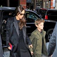 Victoria Beckham s sinom Romeom (foto: Profimedia)