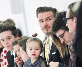 Foto: Družinsko vzdušje pri Victorii Beckham