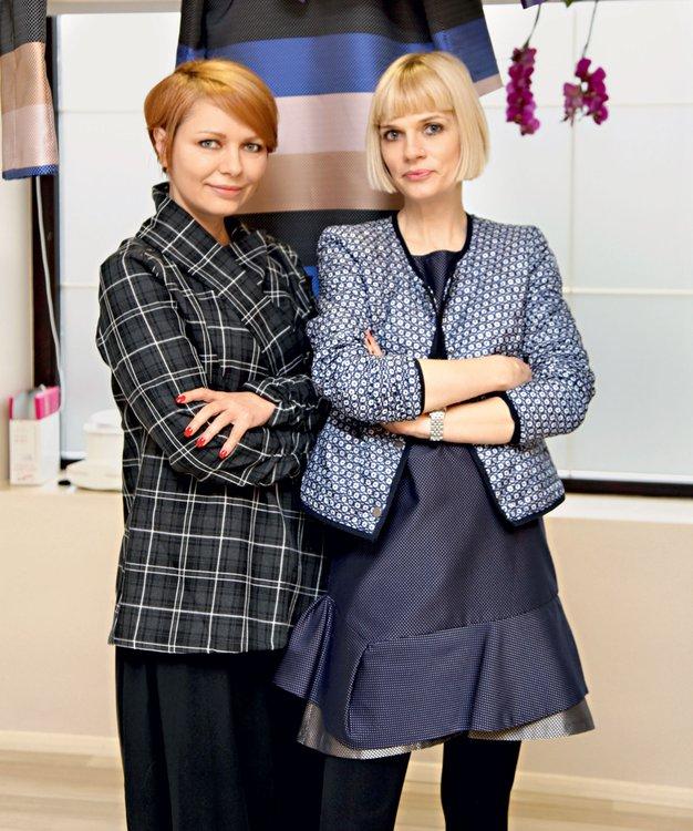Branka Pavlovič in Barbara Žgalin - Foto: Helena Kermelj
