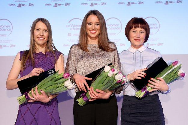 Barbara Hubad, Eva Ogorevc in Janja Stergar