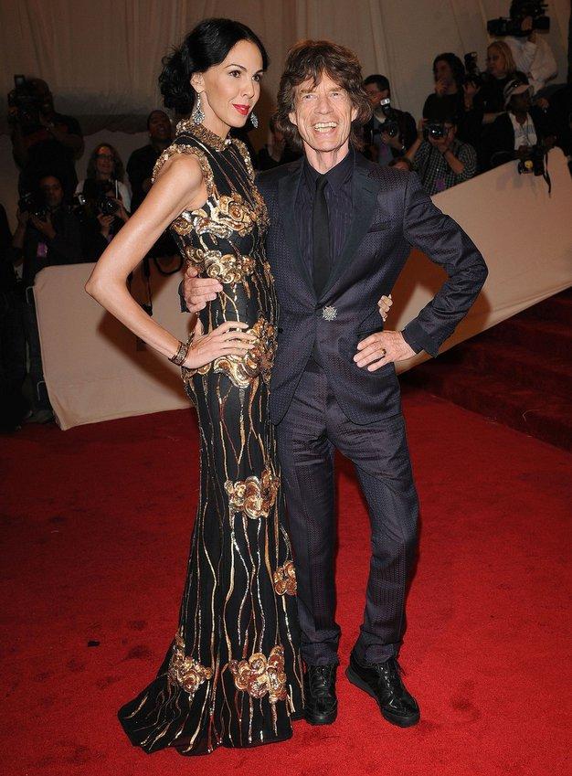 L'Wren Scott in Mick Jagger - Foto: Profimedia