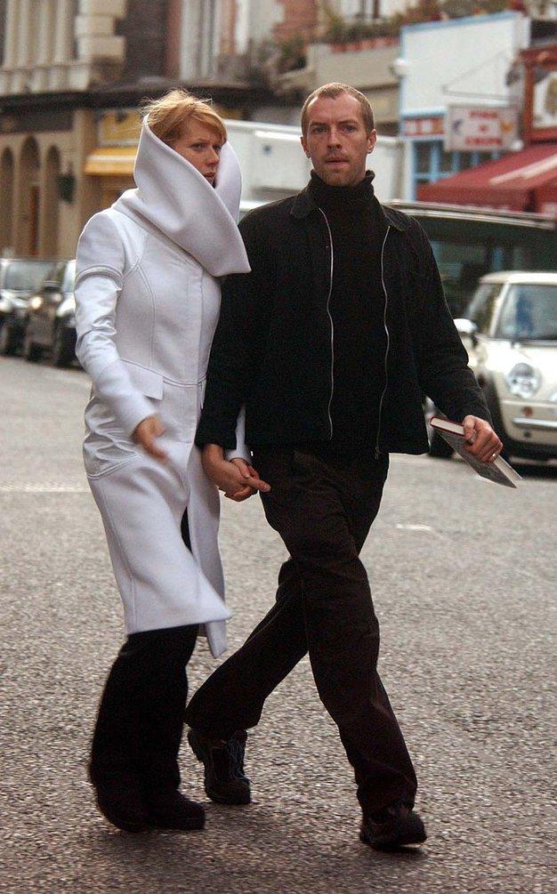 Chris in Gwyneth sta se v javnosti le redko pojavljala skupaj. - Foto: Profimedia