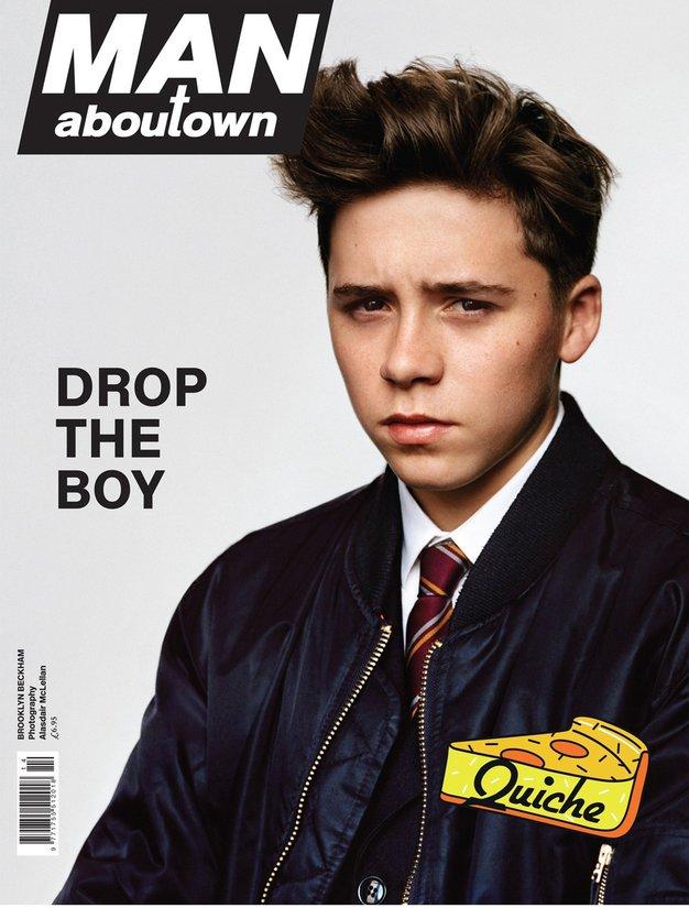 Brooklyn Beckham, 15: Fant z naslovnice - Foto: Profimedia
