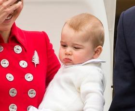 Foto: Prikupni princ George prvič potuje