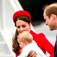 Foto: Prikupni princ George prvič potuje (foto: Profimedia)
