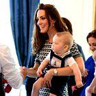 Foto: Mali princ George na igralnih uricah