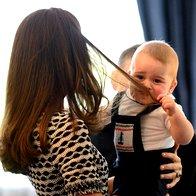 Foto: Mali princ George na igralnih uricah (foto: Profimedia)