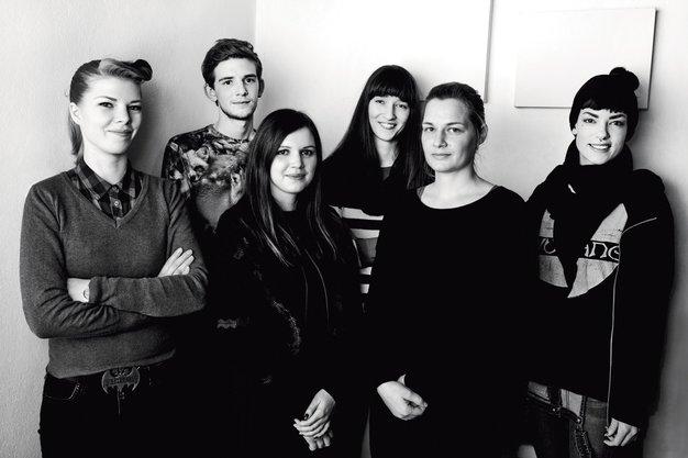 Ekipa Young@Squat z mladostno energijo in svežo oblikovalsko močjo - Foto: osebni arhiv