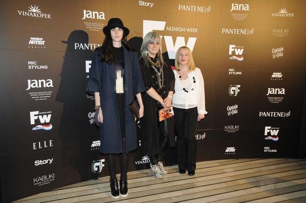 Izjave oblikovalcev po prvem sklopu večernih modnih revij - Foto: Sašo Radej