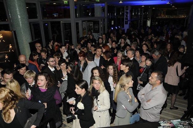 Mnenja obiskovalcev magistrske revije NTF o modno zavednih moških - Foto: Sašo Radej