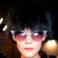 Mačja sončna očala Fendi. (foto: promocijsko, profimedia, imaxtree)