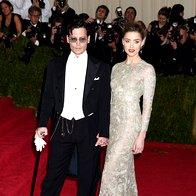Johnny Depp in Amber Heard (foto: Profimedia)