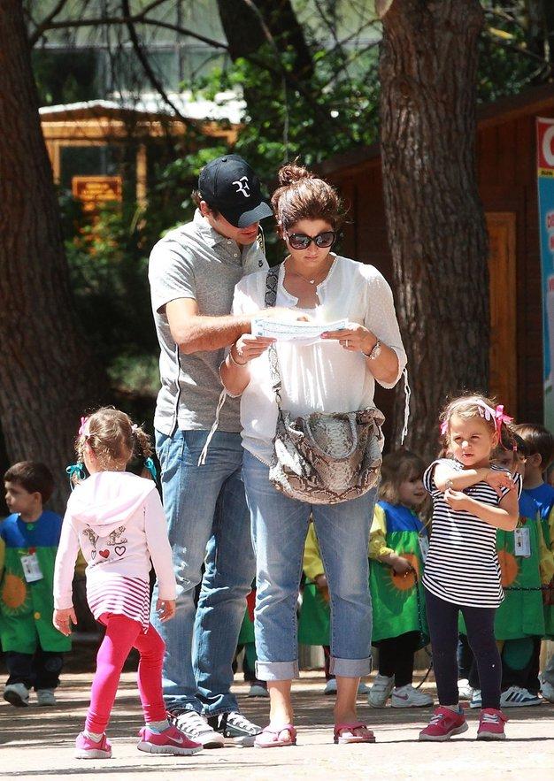 Mlada družina Federer se je povečala za še en par dvojčkov. - Foto: Profimedia