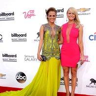 Carrie Underwood in Miranda Lambert (foto: Profimedia)
