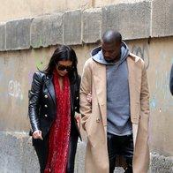 Foto: Paparaci na sledi Kimye v Pragi (foto: Profimedia)
