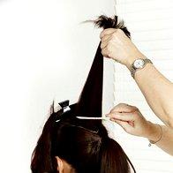 Domači frizerski salon: Dvojna figa za videz v slogu BB (foto: NIVEA)