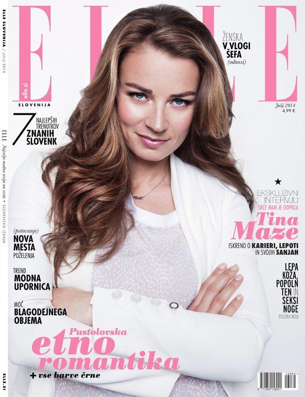 Tina Maze je nova Elle zvezda! - Foto: Elle
