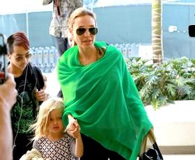 Foto: Angelina Jolie kot stilski navdih