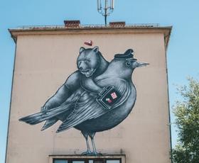 """""""Stilska preobrazba"""" fasade nekdanjega Kina Vič"""