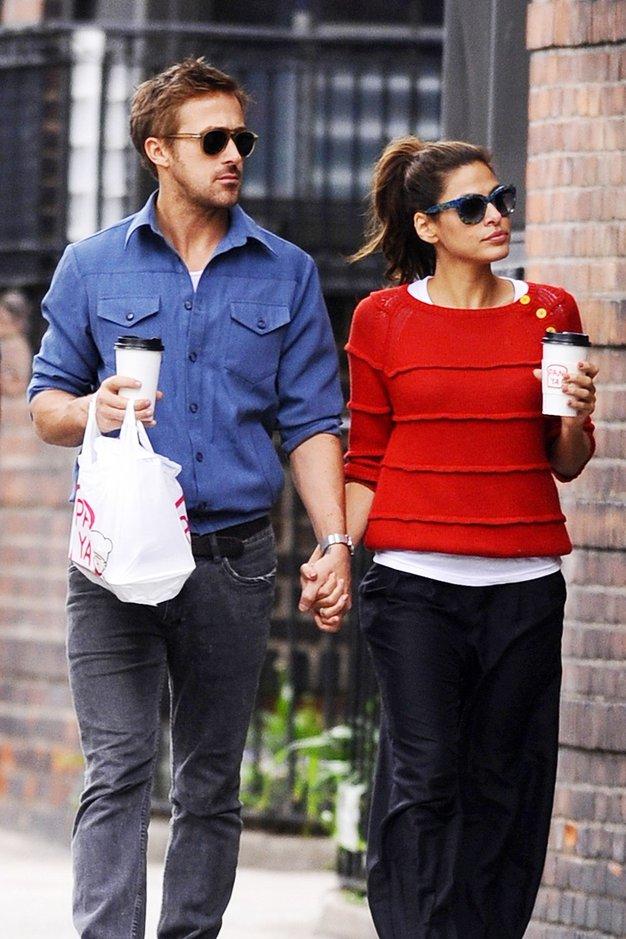Ryan Gosling bo očka! - Foto: Profimedia